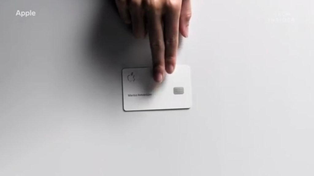 apple card(アップルカード)