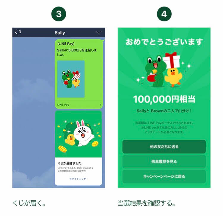 LINE Pay(ラインペイ)の送金MaX20倍キャンペーンのやり方