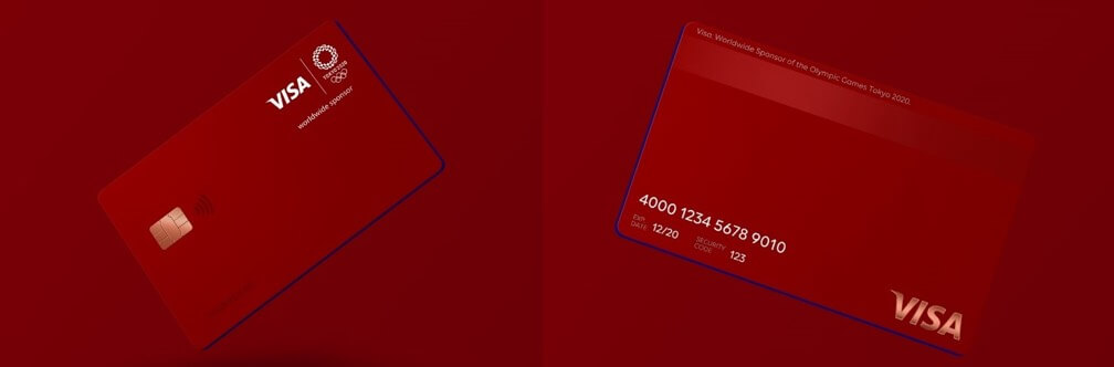 LINE Pay Visaクレジットカード東京オリンピック限定デザイン